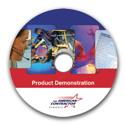 flash product demonstration cd