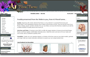 ecommerce: wholesale flowers