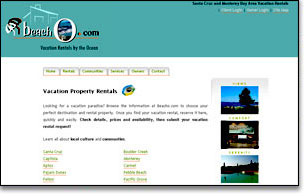 property management-vacation rental site
