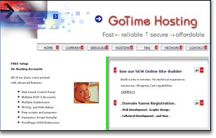 web hosting and support system