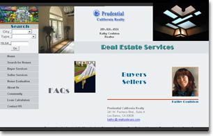 real estate agent site