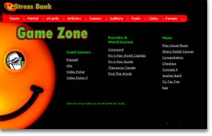 stressbank game arcade site